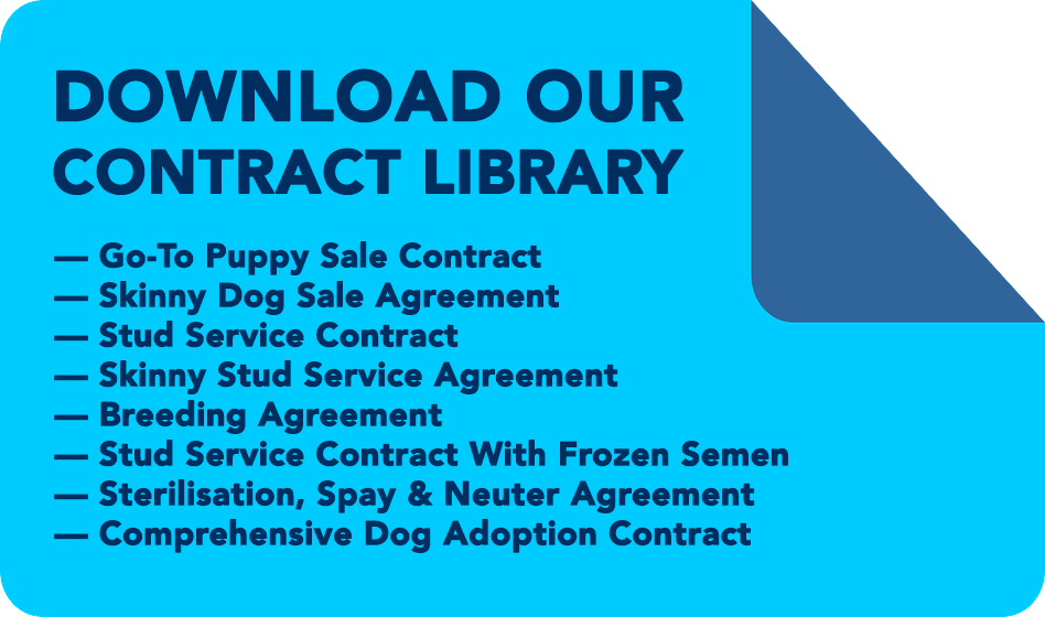 puppy sales contract library