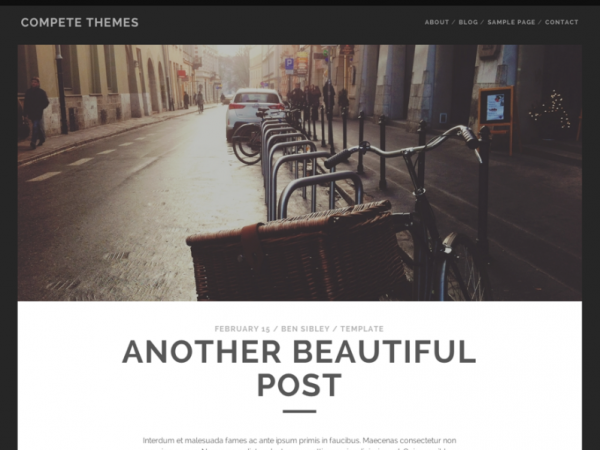 Tracks Free WordPress Theme