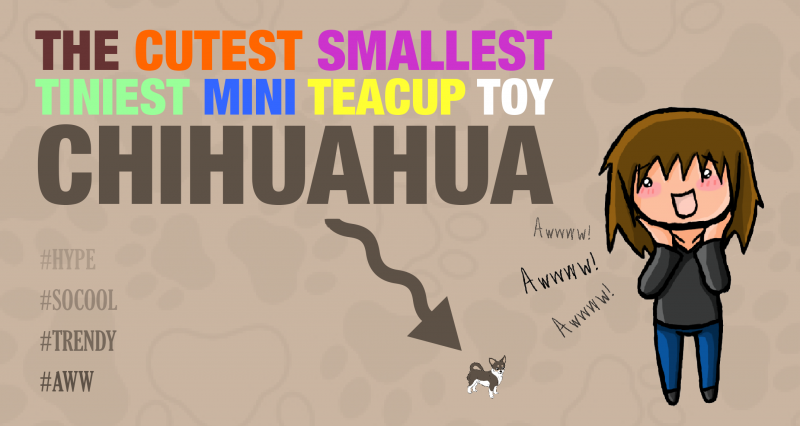"The ""Smallest Tiniest Mini Teacup Dog Breed"" Trend"