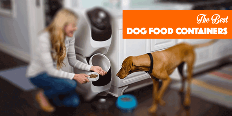Kibble Container, dog food container