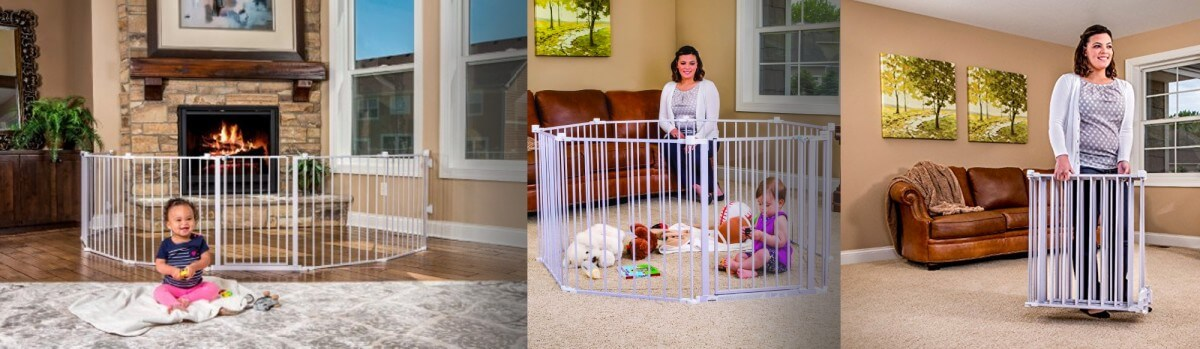 Regalo Super Wide Gate and Play Yard