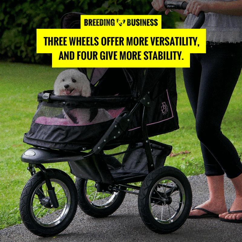wheels in dog strollers