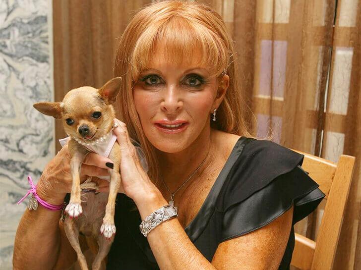 conchita (richest chihuahua dog) and gail posner