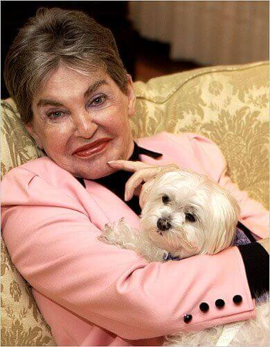 leona helmsley and trouble (rich dog)
