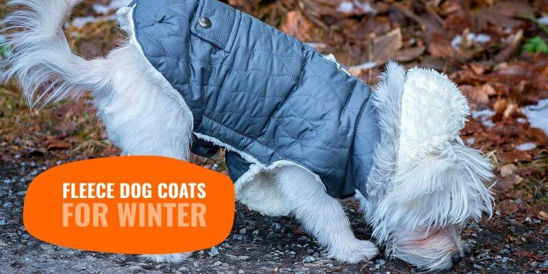 Fleece Dog Coats for Winter