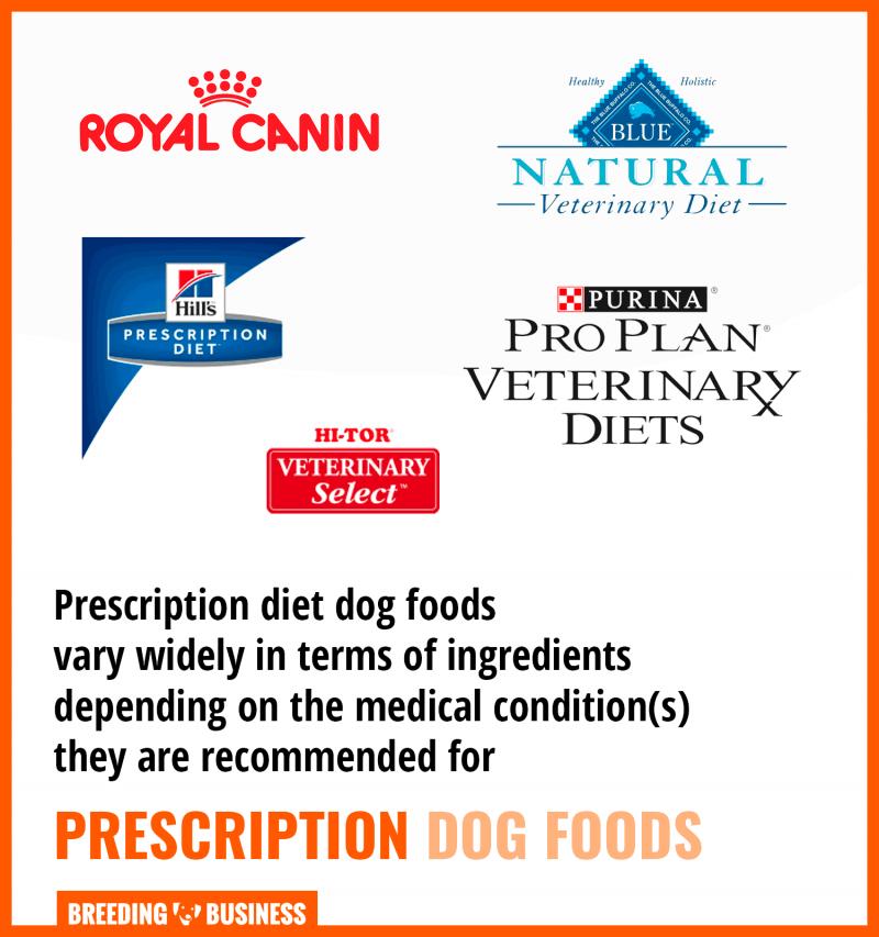 best prescription dog food brands