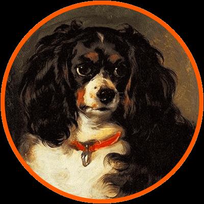 sir edwin landseer dash cavalier dog