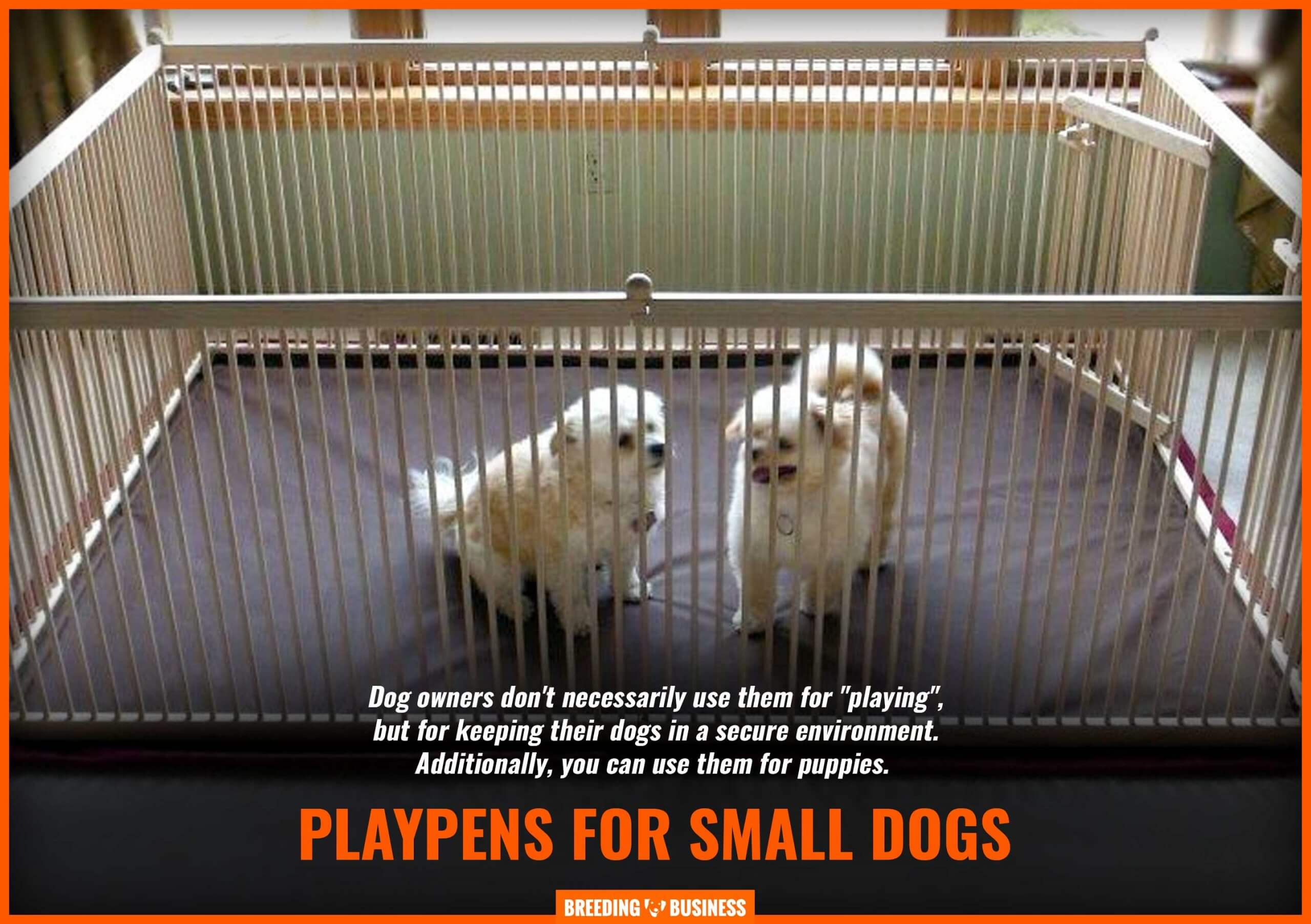 small dog playpens